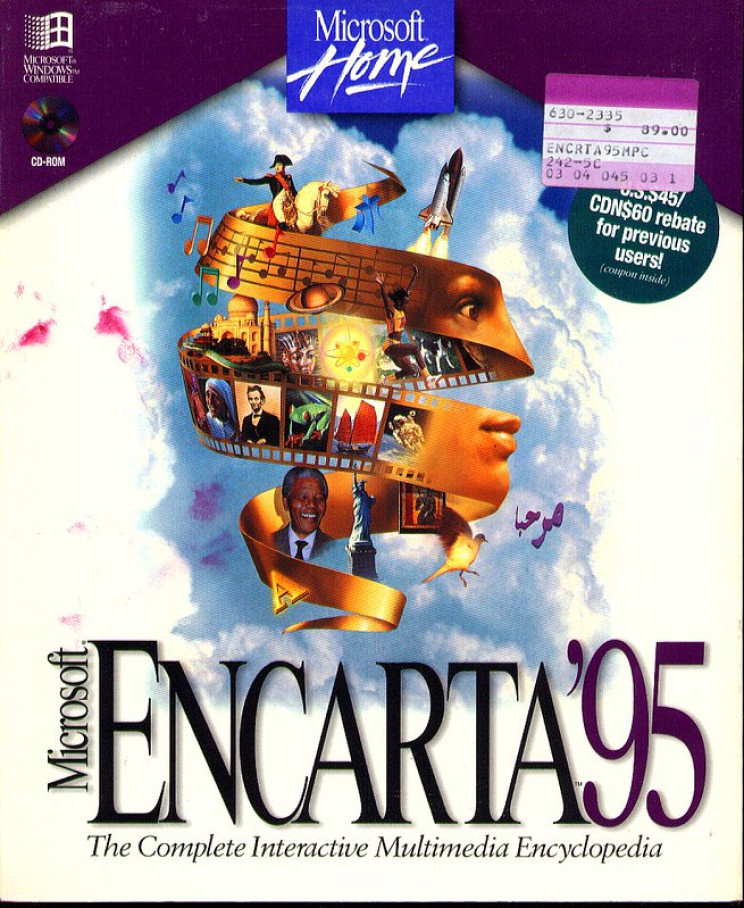 life before internet encarta