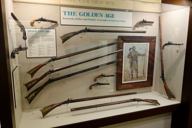 18th Century Weapons long rifle