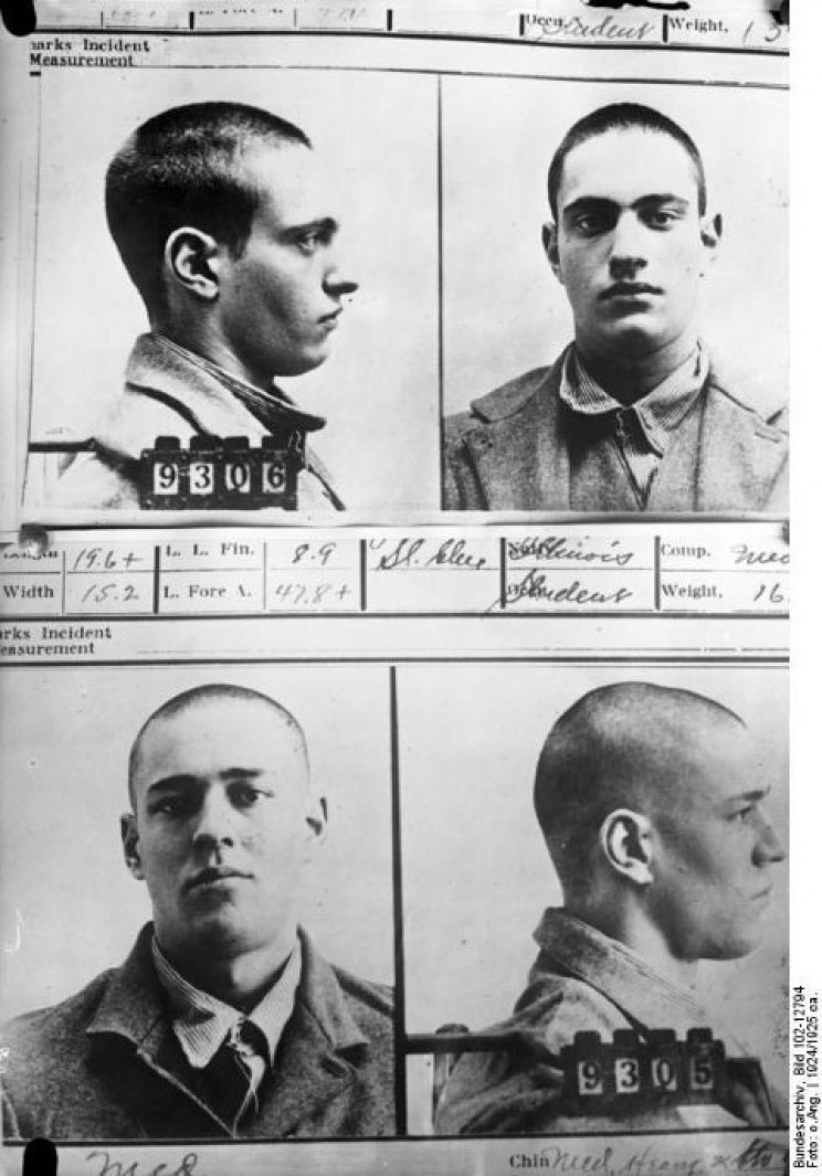 Leopold and Loeb prison photo