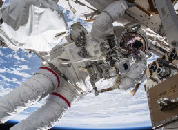 NASA Conducts Spacewalk to Install Adapters on ISS for Boeing, SpaceX Capsules