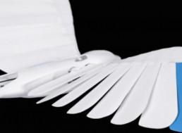 Bionic Bird Mimics Real-World Swallow, Flies 3D Swarm Maneuvers With Tricks
