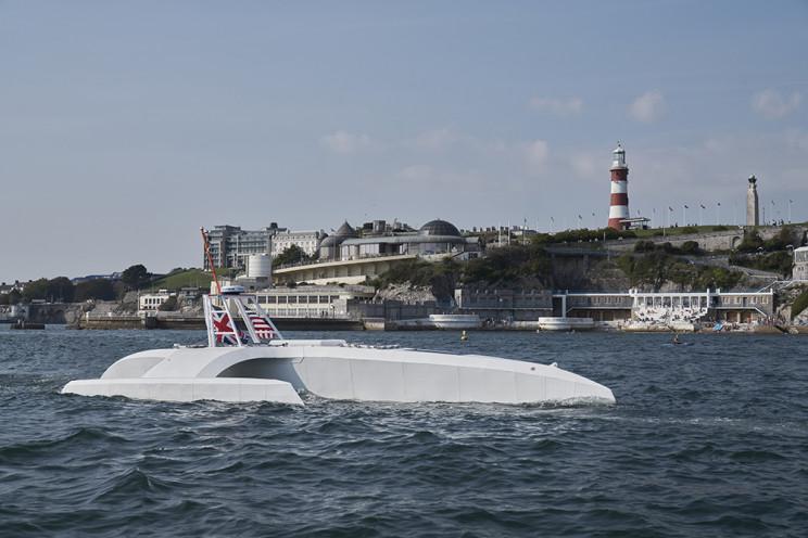 AI and Solar Energy Powered Mayflower Sails for Ocean Exploration