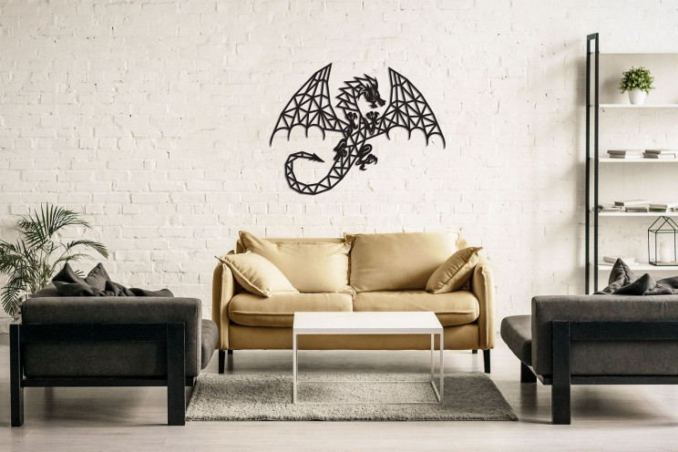 ewa dragon puzzle wall