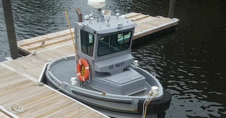 US Navy's Possibly Smallest Ship Is as Long as a Ford F-150