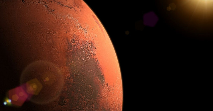 Mars Express Finds Salty Lakes Under Mars Surface
