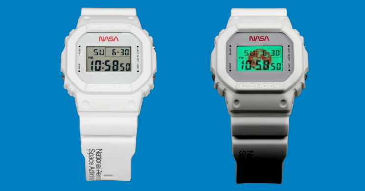 Casio Launched a Sleek NASA-Themed G-Shock Watch