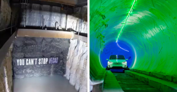 The Boring Company's Second Tunnel is Ready in a Smashing Way