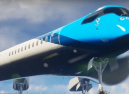 KLM Building Student-Designed Airplane That Uses 20% Less Fuel