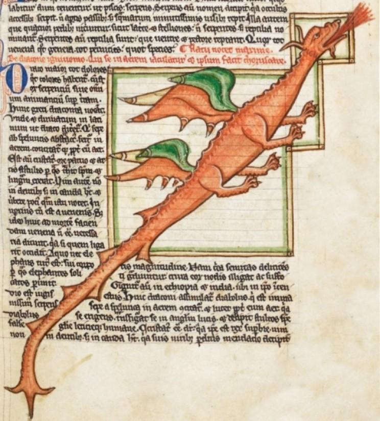 13th-century dragon