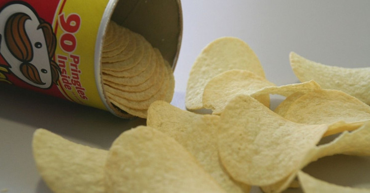 Crunchy Engineering of Pringles' Hyperbolic Paraboloid Shape