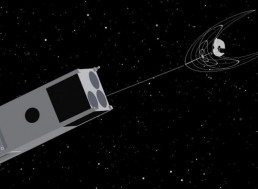 Tiny CubeSat on a Mission to Clean up Space Junk