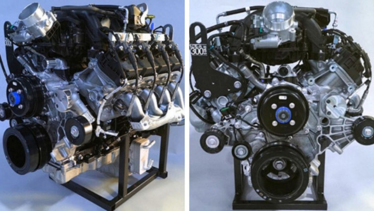 Ford May Be Testing A Twin-Turbo Variant of Its Mighty V-8 'Godzilla'