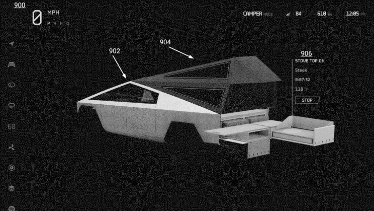 New Tesla Cybertruck 'Armor Glass' and UI Patents Reveal Exciting Features