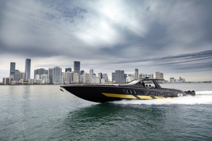 Mercedes-Benz Releases 59-Foot Six-Engine Speedboat and Matching SUV