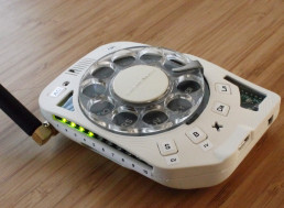 Space Engineer Built Her Own Cell Phone with a Rotary Dial System