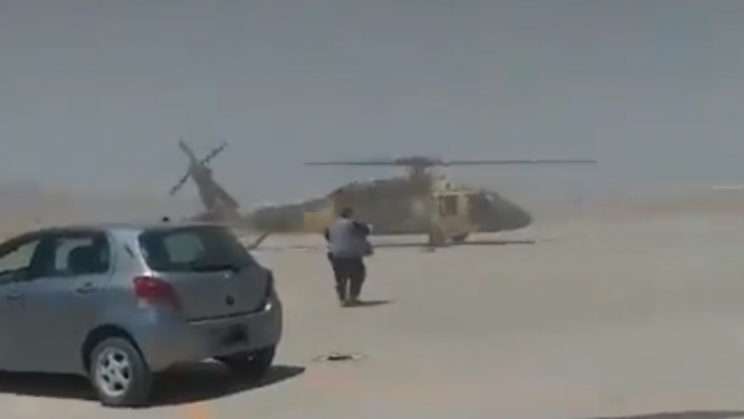 Video Shows Taliban Allegedly Flying Black Hawks Left by the US