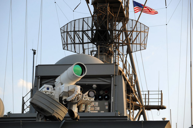 directed energy weapons navy