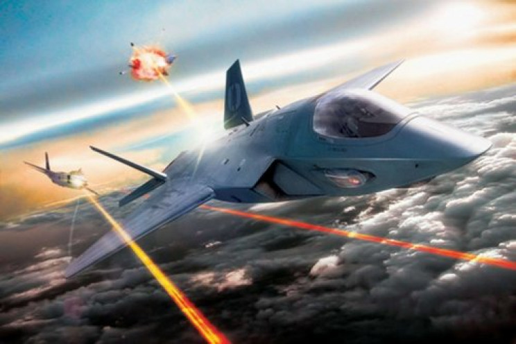 directed energy weapons planes