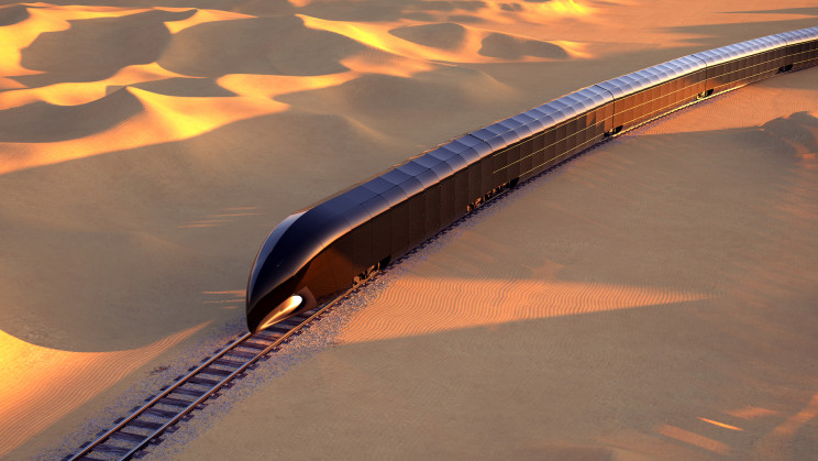 This All-Glass Smart Train Concept is a Luxurious 'Palace on Rails'