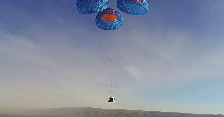 Blue Origin Successfully Tests Upgraded Capsule Built for Crewed Flights