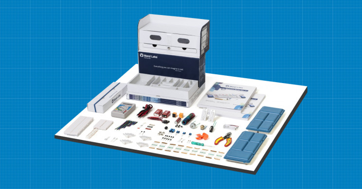 All-in-One STEM Electronics Kit Will Teach You All About Electricity and Robotics