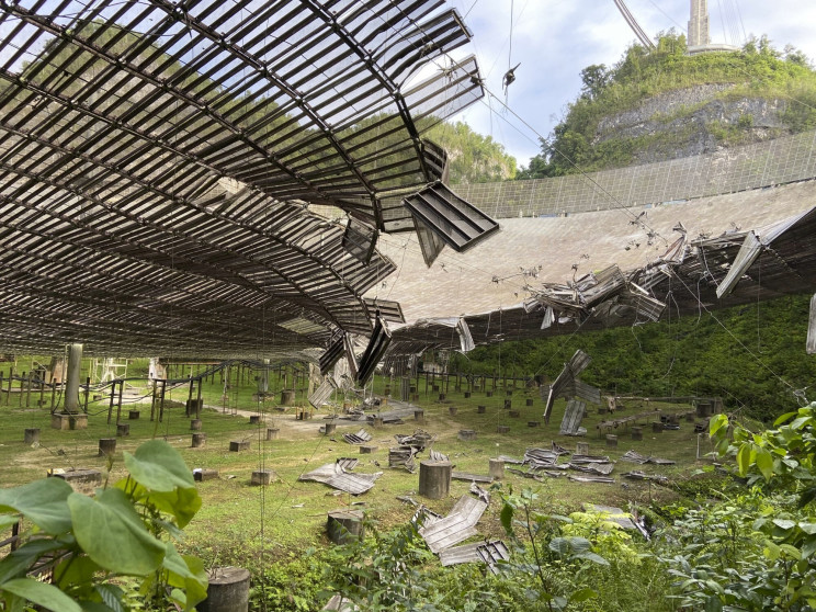 Legendary Arecibo Telescope in Puerto Rico to Be Demolished
