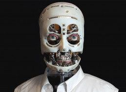 Disney Engineers' Skinless Robot Has Scary Lifelike Gaze