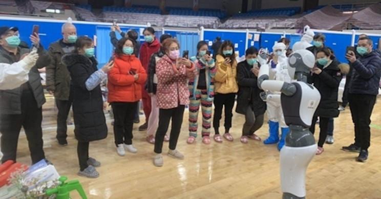 Wuhan Coronavirus Hospital Ward Staffed Only by Robots