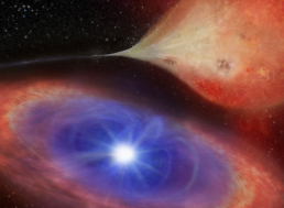 A White Dwarf Was Observed 'Switching On and Off' for the First Time