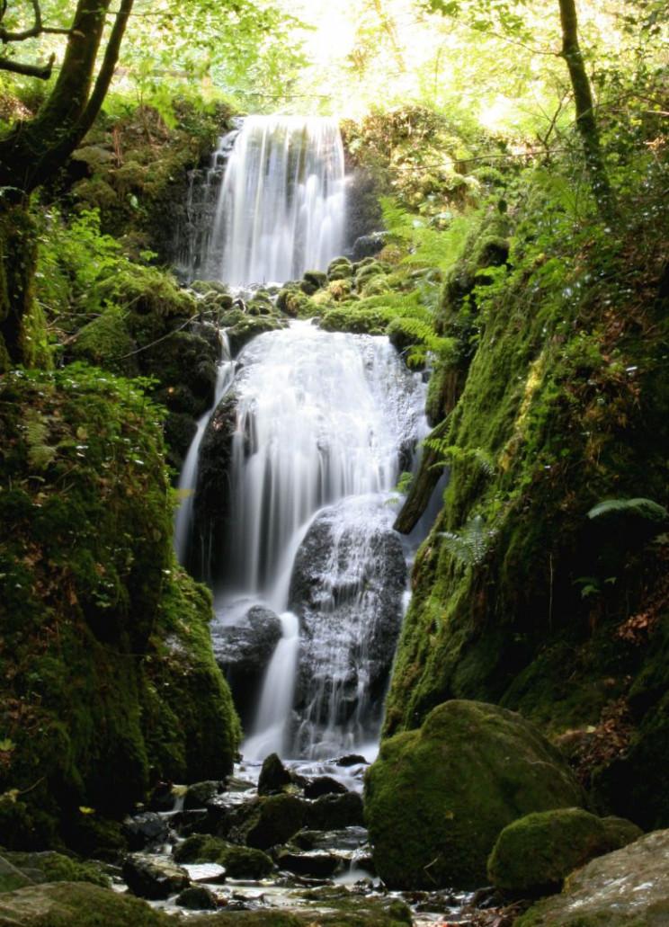 manmade waterfalls canonteign