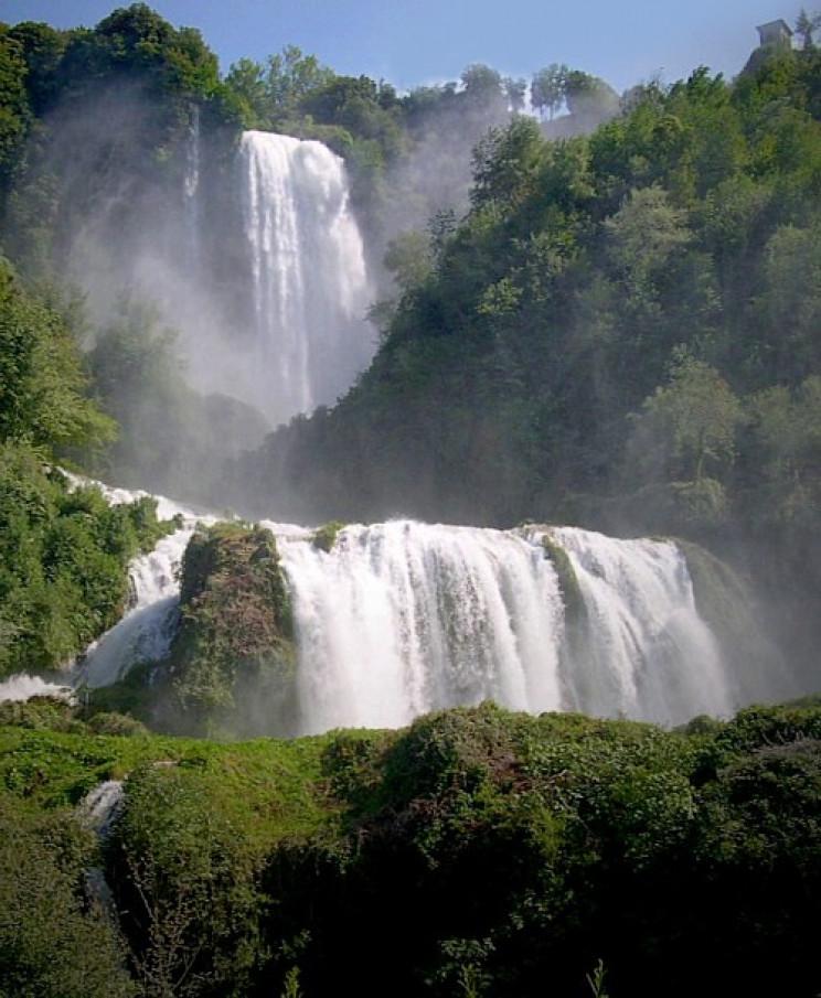 manmade waterfalls cascata