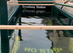 Worried Commuter Asked Why Subway Station Was Flooded, the MTA Had a Fun Response