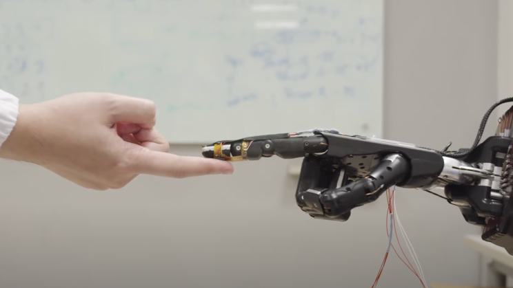 The Midas Touch: New Foam Material Allows Robots to 'Feel' and Self-Repair
