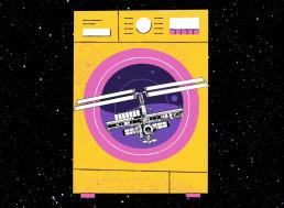 NASA Interns Design 'Space' Washing Machine for Astronauts