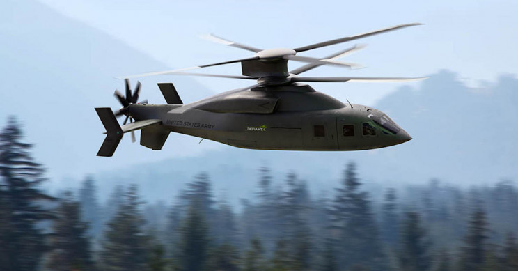 Lockheed Martin, Boeing Team up For Defiant X Helicopter Concept