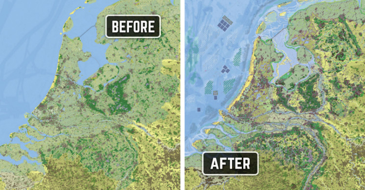 Researchers Illustrate A Climate-Proof Netherlands in 2120