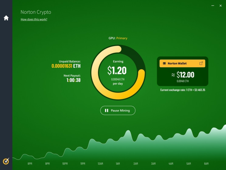 Norton 360 Antivirus Will Roll Out a Crypto Mining Feature