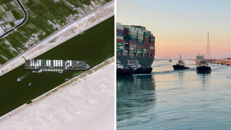 The Ship Blocking The Suez Canal Has Been Freed