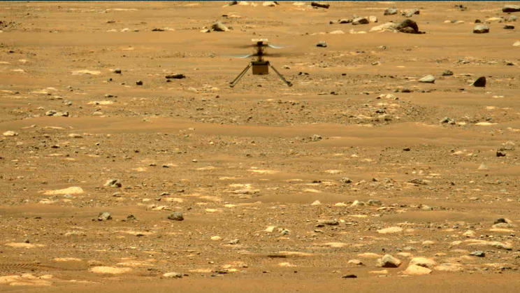 Mars Ingenuity Helicopter Reaches New Heights on Second Flight