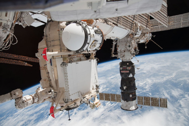 Progress docked with ISS