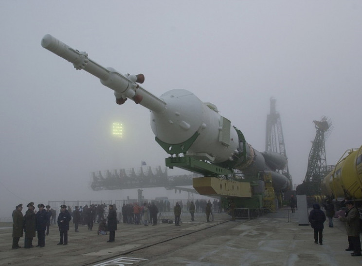 Soyuz rocket that carried the first ISS occupants