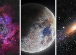 Astrophotographer Creates a Crystal Clear High-Resolution Moon Image from 6000 Photographs