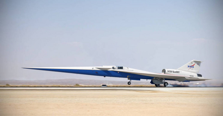 NASA's Supersonic X-Plane Will Re-Use Several Kinds of Military Jet Parts