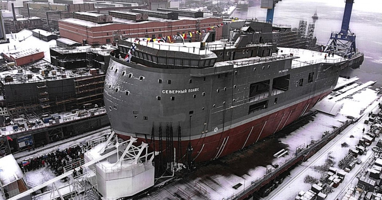 Russia's Long-Endurance Arctic Research Ship Would Make Baby Yoda Cry