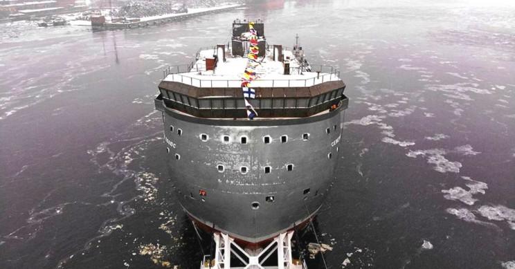 TASS Russian Ship