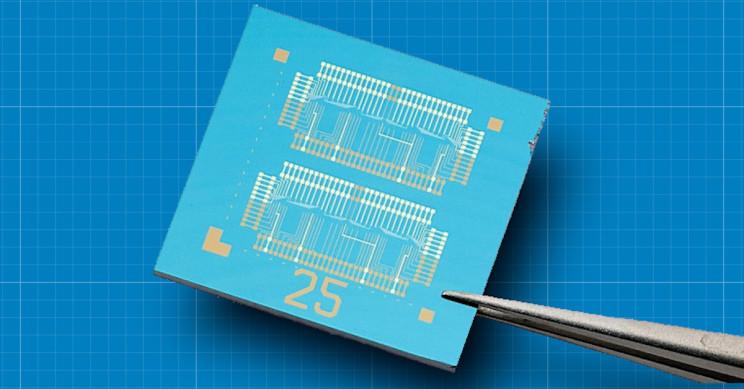 2D Material Helps Next-Gen Computer Chip Store, Process Data Like Neurons