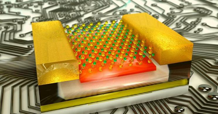 2D Computer Chip EPFL LANES