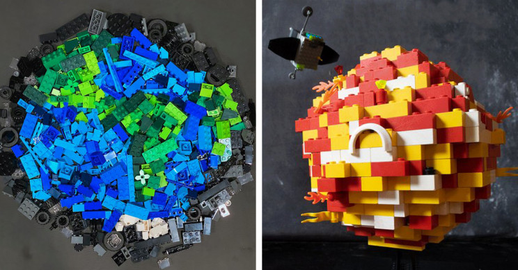 """NASA and LEGO Celebrated 50th Anniversary of Earth Day With """"Build a Planet"""" Challenge"""