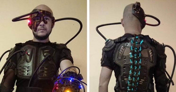 Star Trek Revived By This Borg Cosplay With 3D-Printed Parts