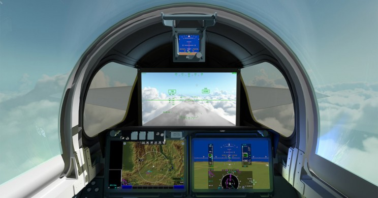 NASA's X-59 QueSST Supersonic Jet Has a 4K Display Instead of a Front Window